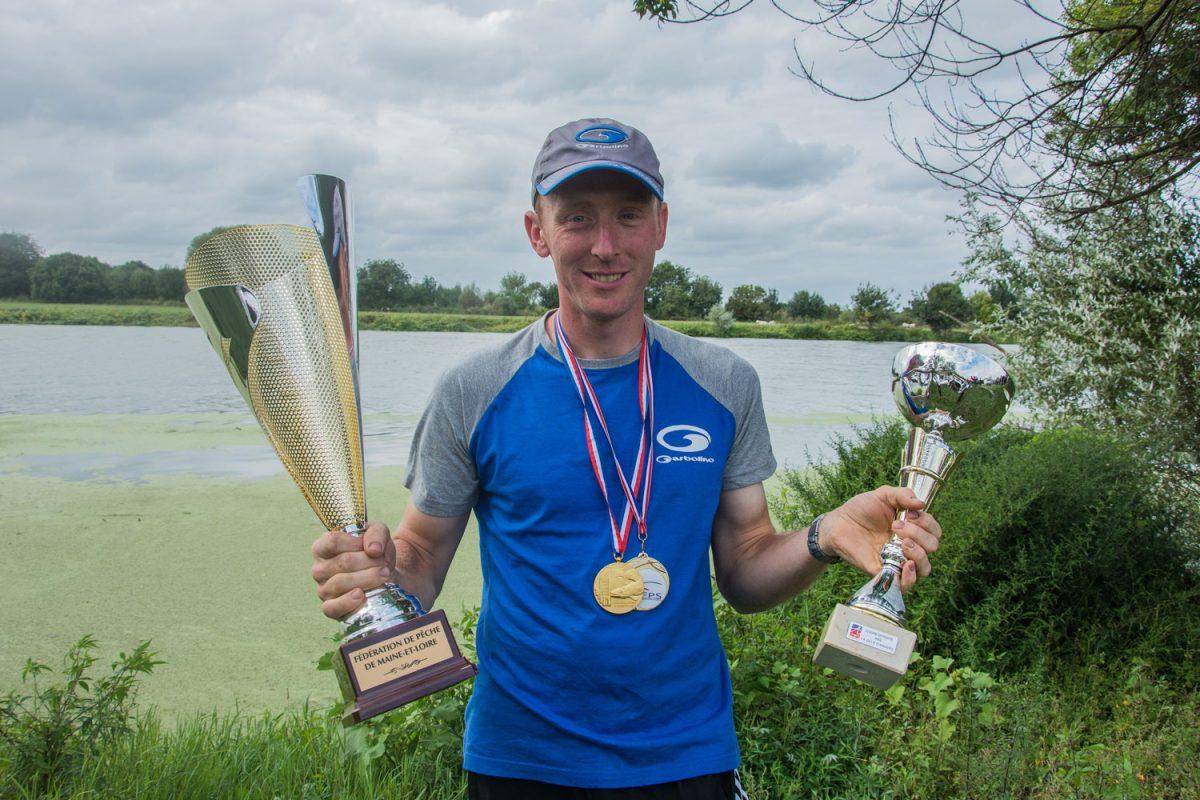 Mickael Letscher champion de France de pêche au feeder 2017